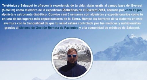 Diabeticos en el Everest
