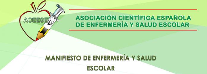 Manifiesto Enfermeria y salud escolar